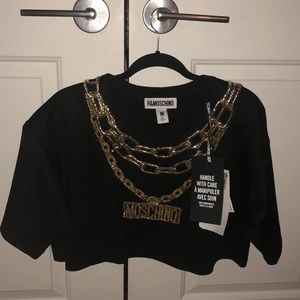 H & M  Moschino Short Top Shirt
